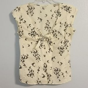 Anthropologie Odille whale top